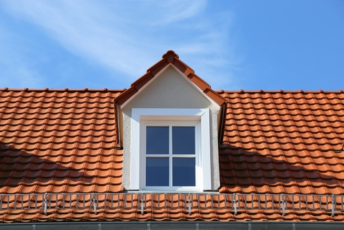 dormer window in roof