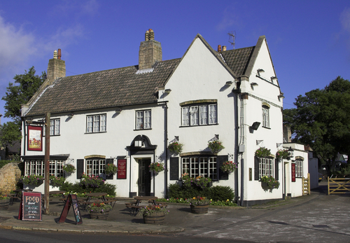 Traditional English country pub